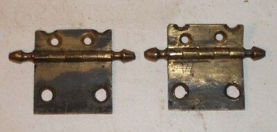 Antique Cast Longcase Grandfather Clock Door Hinges