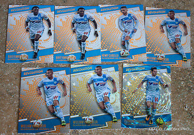 Olympique de Marseille 2017 Panini Revolution Team lot of 7 with  Inserts