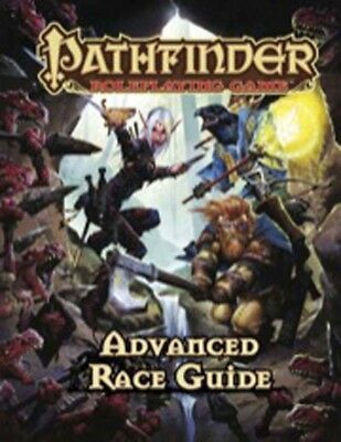 Advanced Race Guide For Pathfinder Role Playing Game - Hardcover Book