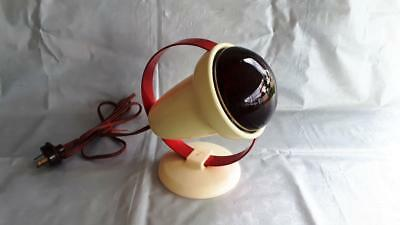 Collectable Vintage RETRO Bakelite Philps Infraphil Red Health Heat Lamp Light