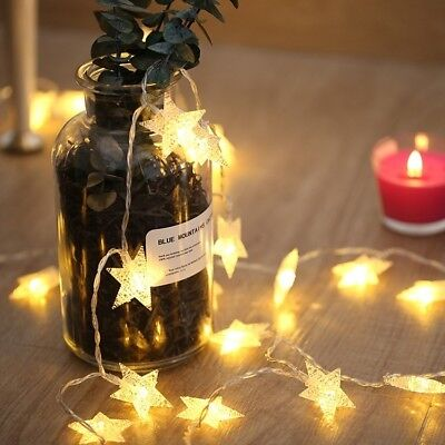 Star Fairy String Light Christmas Style Decorative LED Light for Christmas Party