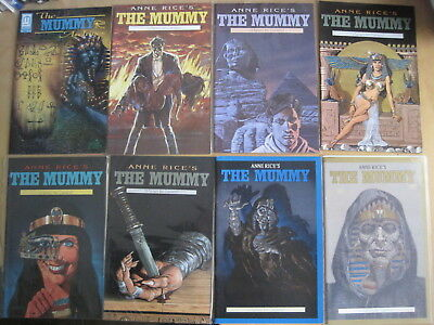 Anne Rice's The MUMMY ,1990 MILLENNIUM SERIES. 8 ISSUES: 1,2,5,7,8,9,12,ARCHIVES