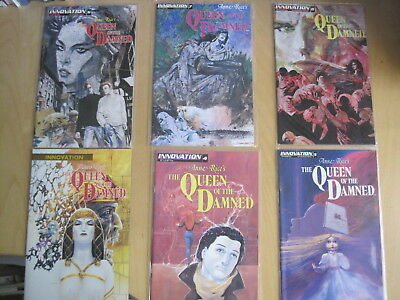 Anne Rice's QUEEN of the DAMNED ,1991 MILLENNIUM SERIES. 7 ISSUES: 1,2,4,5,6,7,8