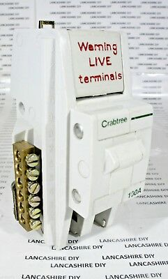 Crabtree 100A Switch Disconnector AC22B 240V 50Hz
