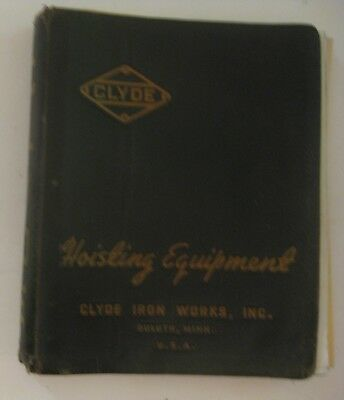 Vintage U.s. Steel Clyde Iron Works Duluth Minnesota Advertising Binder & Papers