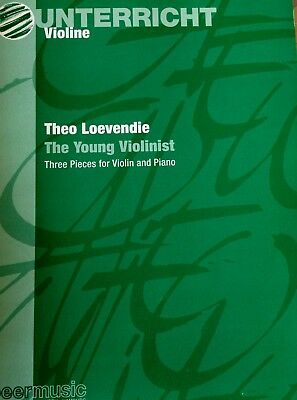 Loevendie - the young Violinist - three pieces for Violin and piano