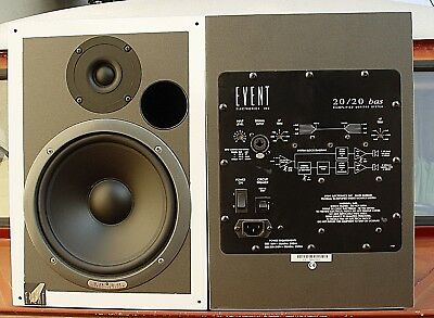 Boxen Paar - Event Electronic 20/20 Bas Bi-Amplified Studio Monitor System