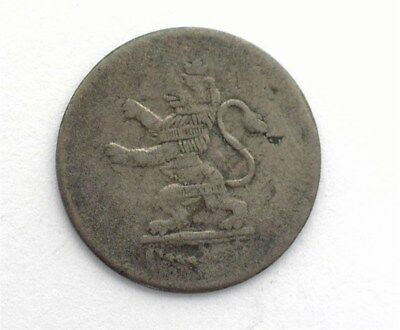 Hesse-Cassel 1815 Silver 1/24 Thaler -German State- Very Fine Km#554.2