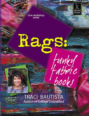 Retro Rags Workshop: Funky Fabric Books by Traci Bautista - Art Education DVD