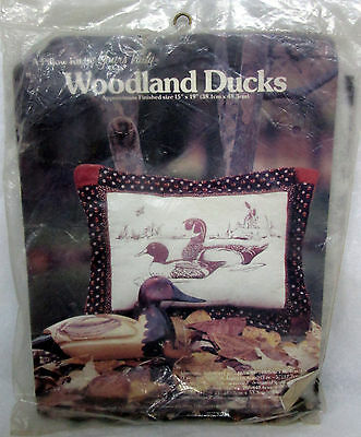 Yours Truly WOODLAND DUCKS Pillow Kit - Vintage 1982