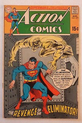 Action Comics 379 Superman Silver Age 1969 DC NF-/NF Condition