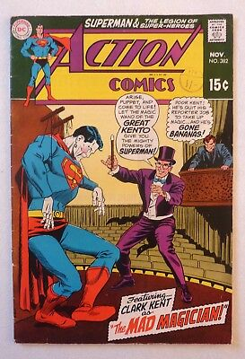 Action Comics 382 Superman Silver Age 1969 DC FN+/VFN- Condition
