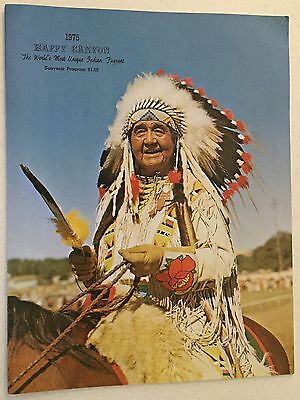 Vintage 1975 Pendleton Roundup Let'er Buck Oregon Happy Canyon Souvenir Program