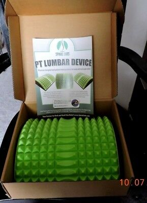 Relieve Chronic Back Pain PT Lumbar Device Back Stretcher By Spinal Labs NIB