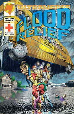 Flood Relief #1 VF/NM; Malibu | save on shipping - details inside