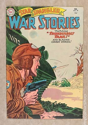Star Spangled War Stories (DC #3-204) #30 1955 VG 4.0
