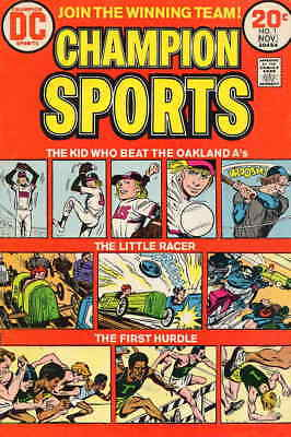 Champion Sports #1 FAIR; DC | low grade comic - save on shipping - details insid