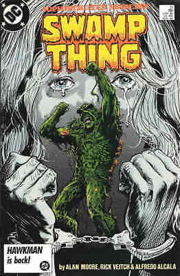 Swamp Thing (2nd Series) #51 FN; DC   save on shipping - details inside