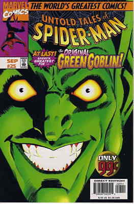 Untold Tales of Spider-Man #25 VF/NM; Marvel   save on shipping - details inside