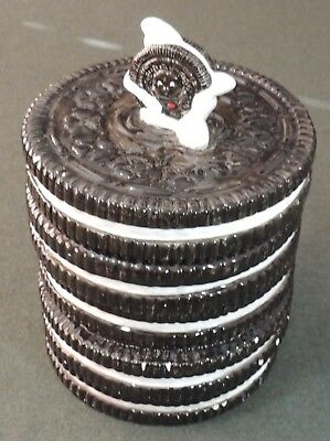 Vintage Stacked Oreo Cookie Jar Nabisco Classic Collections