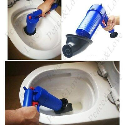 High Pressure Powerful Manual Sink Plunger Opener Cleaner Pump for Bath Toilets