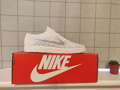 quality design 78384 b96de Brand New Boxed Nike Court Tennis Classic Ultra Flyknit - Platinum White 8  UK 1 ...