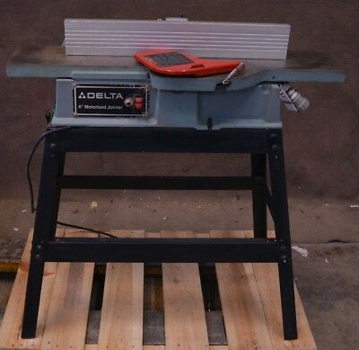 "Delta 37-280 6"" Motorized Jointer 120VAC 1Ph"