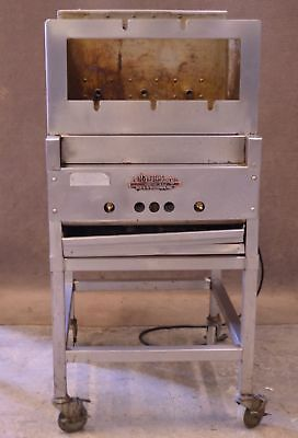 Old Hickory Barb-Q Barbecue Rotisserie Smoker Cooker Machine BBQ Natural Gas
