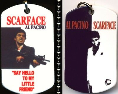 Scarface Al Paccino As Tony Montana Say Hello To My Little Friend