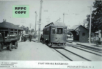 Fast Shore Traction Station (Trolley Depot) at Pleasantville, Atlantic Co., NJ