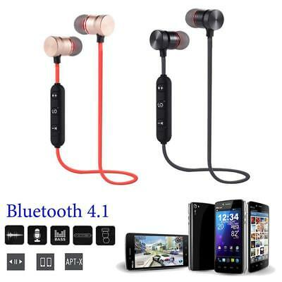 Vouge Magnet Wireless Bluetooth Sports Earphone Headset Headphone Comfortable SY