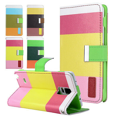 Wallet Protective Phone Case with Credit Cards Holder for Samsung Galaxy Note 4