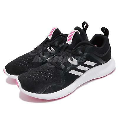 26754b7c22426 adidas EdgeBOUNCE W Black Silver Pink White Women Running Shoes Sneakers  BB7563