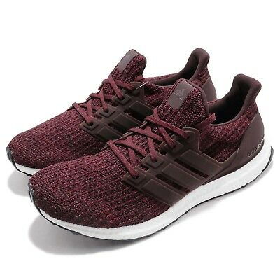 91a82c3e634 adidas UltraBOOST 4.0 Maroon Night Red White Men Running Shoes Sneakers  CM8115