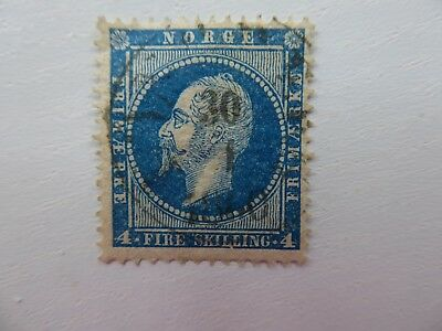 Norway 1856 4 skilling fine used