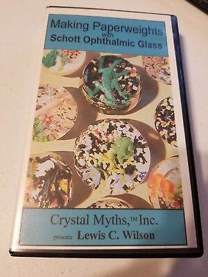 Making Paperweights - SCHOTT - Lewis Wilson Crystal Myths Instructional VHS