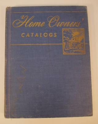 Vintage Home Owner's Catalogs Hardcover Book Collection Mid Century Decorating