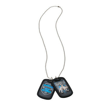 """WWE The Shield """"Return to Justice"""" Dog Tags *NEU* Kette Pendant"""