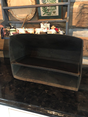 Antique Primitive Tin Reflector Oven for Fireplace ~ Homey Christmas Baker