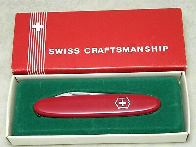 Victorinox Switzerland Red New Pocket Pal 2-Blade Folding Knife NIB