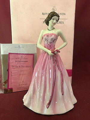 Royal Doulton Charity Figurine 2009 Tender Is The Heart (Hn5250) Brand New/boxed