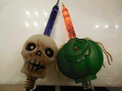 Two Halloween Bubble Lights