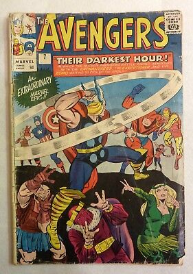The Avengers 7 Silver Age 1964 First Enchantress