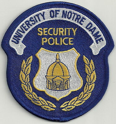 Notre Dame University Indiana Security Police Patch