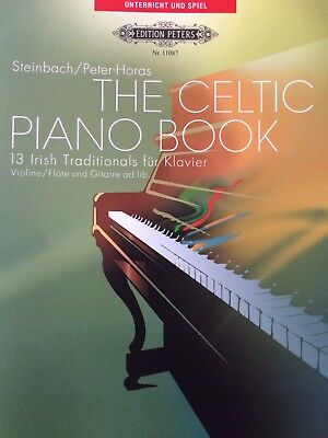 Steinbach & Horas - the Celtic Piano Book - 13 Irish Traditionals - für Klavier