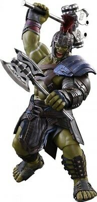Marvel Thor Ragnarok Movie Masterpiece Gladiator Hulk Collectible Figure
