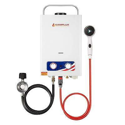 Camplux Pro BD158 1.58GPM Outdoor Propane Tankless Gas Water Heater