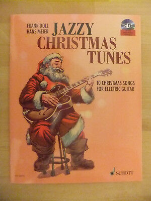 MANGEL Frank Doll Hans Meier Jazzy Christmas Tunes for Guitar Gitarre Noten m CD