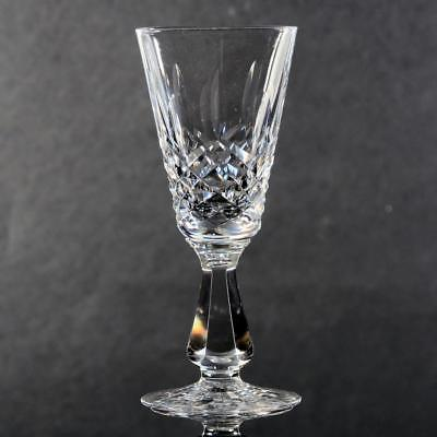 """Set Of 4 Waterford """"kenmare"""" Crystal Sherry Glasses"""
