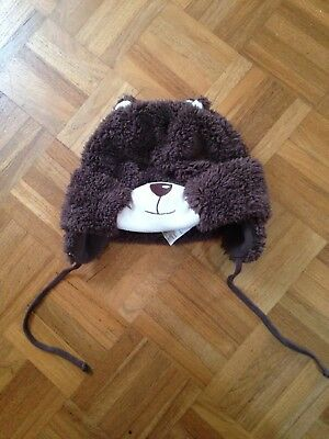 BNWOT Chelsea Clothing Co Brown Bear Soft Hat